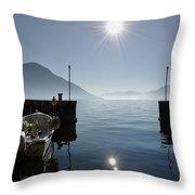 Small Port Throw Pillow