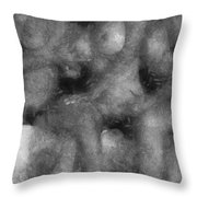 3 Some Abstract Erotica Bw Throw Pillow