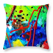 Somewhere Over The Rainbow  II    Cropped Version  Throw Pillow