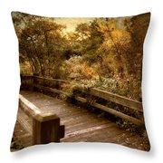Splendor Bridge Throw Pillow