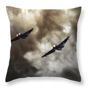 3 Squadron Throw Pillow
