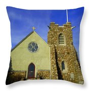 St. Andrews-by-the-sea Throw Pillow