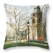 St Johns Church Wapping London Throw Pillow