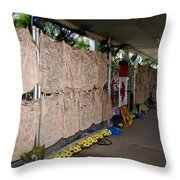 Steve Irwin Memorial Throw Pillow