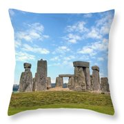Stonehenge Throw Pillow