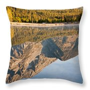 String Lake Grand Teton National Park Throw Pillow