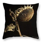 Sunflower Throw Pillow