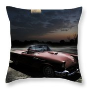 Sweet Dreams Of Route 66 Throw Pillow