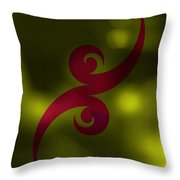 Tattoo Abstract Throw Pillow