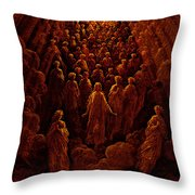 The Angels In The Planet Mercury Throw Pillow