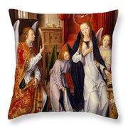 The Annunciation Throw Pillow