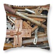 The Carpenter Throw Pillow
