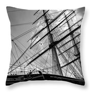 The Cutty Sark Greenwich Throw Pillow