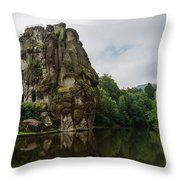The Externsteine Throw Pillow