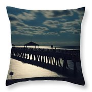 The Last Night Throw Pillow