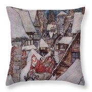 'the Night Before Christmas Throw Pillow