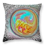 The Orb Art Throw Pillow