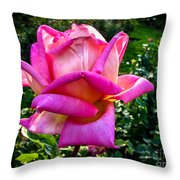 The Pink One Throw Pillow