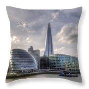 The Shard And City Hall Throw Pillow