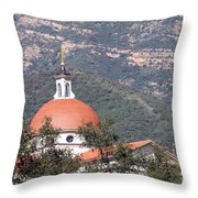 Thomas Aquinas Chapel Throw Pillow
