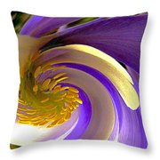 Tidal Wave Throw Pillow