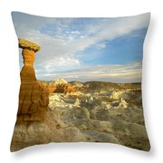 Toadstool Caprocks Grand Staircase Throw Pillow