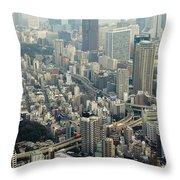Tokyo, Japan Throw Pillow
