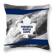 Toronto Maple Leafs Throw Pillow