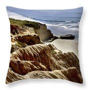 Torrey Pines State Park - California Throw Pillow
