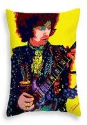 Transcendent Clapton Throw Pillow