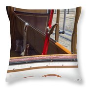 Trolley 28 Throw Pillow