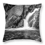 True's Brook Gorge Water Fall Throw Pillow