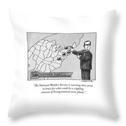The National Weather Service Is Warning These Throw Pillow