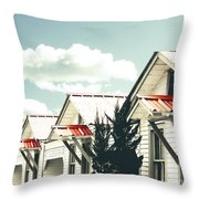 3-v Motel St Francisville La Throw Pillow