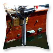 Vancouver Bc Classic Boats Throw Pillow
