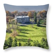 Vanderbilt Mansion Throw Pillow