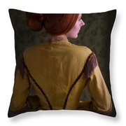 Victorian Woman  Throw Pillow