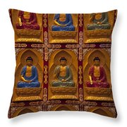 Vietnamese Temple Throw Pillow