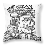 Vlad IIi (1431-1477) Throw Pillow