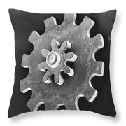 Watch Gear, Sem Throw Pillow