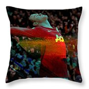 Wayne Rooney Throw Pillow
