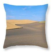 Wheat Fields, S.e. Washington Throw Pillow