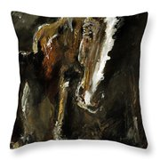 Wild Heart Throw Pillow