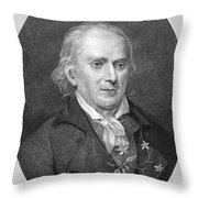 William Bartram (1739-1823) Throw Pillow