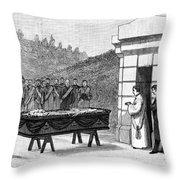 William Henry Vanderbilt (1821-1885) Throw Pillow