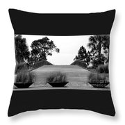 Windmark Beach  Throw Pillow