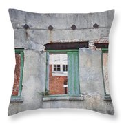 3 Windows Throw Pillow