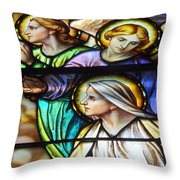 3 Women Throw Pillow