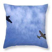 Wwii Planes Throw Pillow
