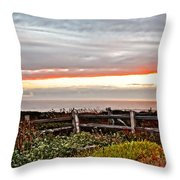 Yachats Oregon Throw Pillow
